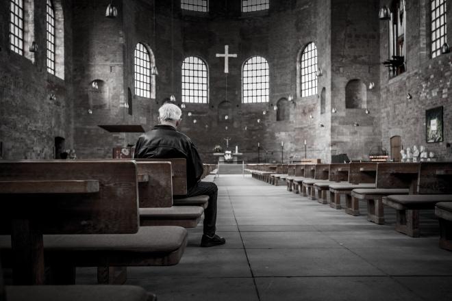 Faith, Church sanctuary